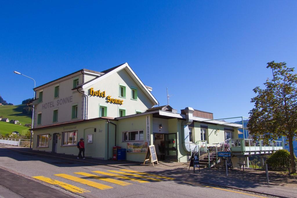 Das Hotel Sonne